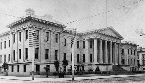 Old San Francisco Mint - The Granite Lady