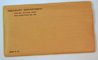 1956 Proof Set Envelope