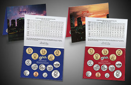2010 uncirculated coin set