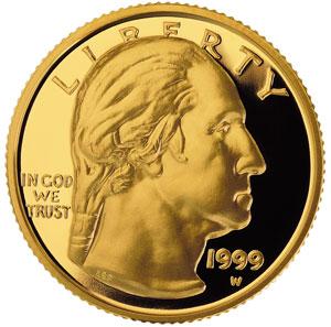 $5 Gold Washington 1999
