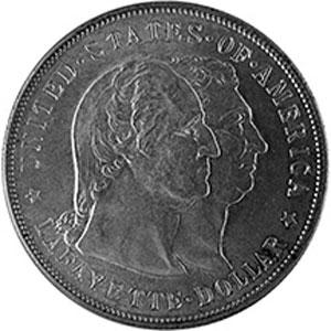 $1 Washington Lafayette 1900