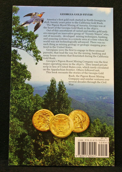 GOLD! At Pigeon Roost back cover