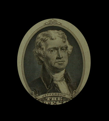 Thomas Jefferson two dollar reserve note