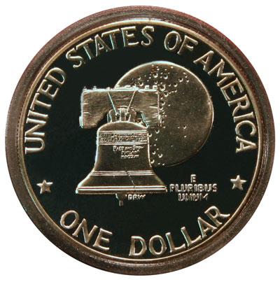 Eisenhower Dollar Bicentennial Reverse