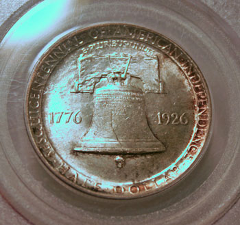 Sesquicentennial of American Independence - 1926 - Half Dollar reverse