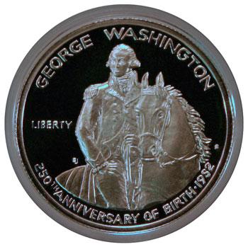 1982 George Washington Commemorative half dollar obverse