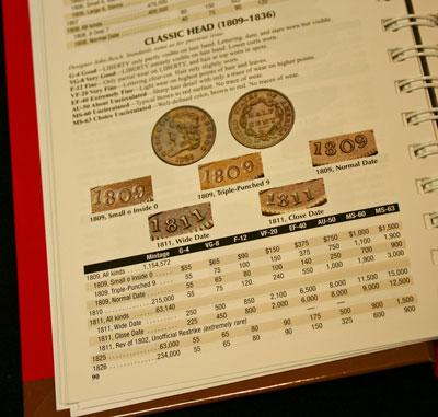 1809/6 Half Cent Obverse 2011 Red Book