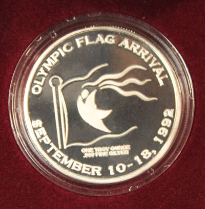 Olympic Flag Medal - obverse
