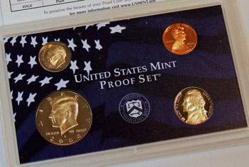 2000 Proof Set Missing Dollar Coin