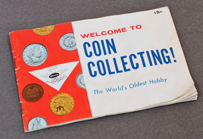 Welcome to Coin Collecting front cover