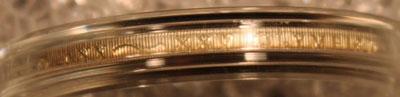 1992 Olympic Baseball Commemorative Silver Dollar edge view 1