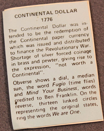 Continental Dollar - description