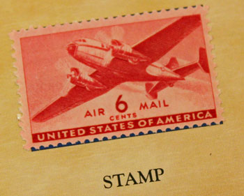 American Historic Society 1941 airmail stamp