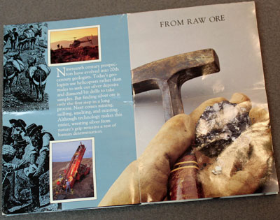 US Mint 1993 Silver Proof Set Brochure From Raw Ore
