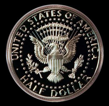 Kennedy Half Dollar Reverse