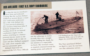US Postal Service Submarine Stamp Booklet first submarine USS Holland