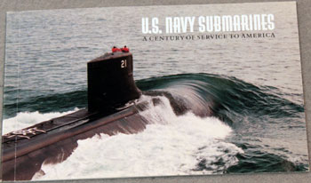 US Postal Service Submarine Stamp Booklet front cover