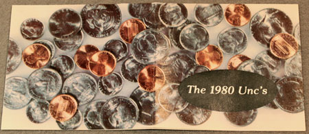 1980 Mint Set Brochure front