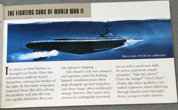 US Postal Service Submarines Stamp Booklet WWII Subs