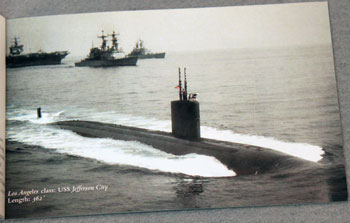 US Postal Service Submarine Stamps Booklet - Los Angeles Class
