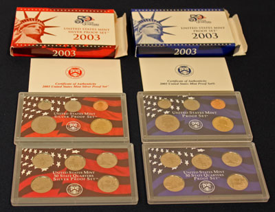 2003 US Mint Proof Sets
