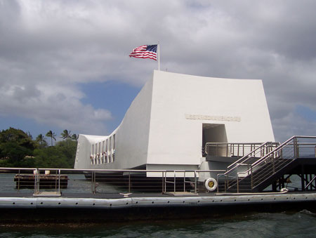 USS Arizona Memorial Building