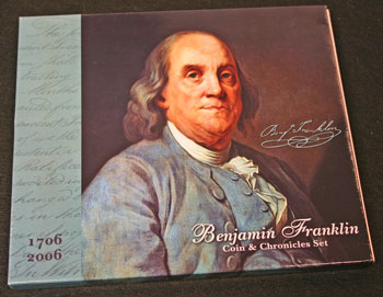 Ben Franklin Coin and Chronicles Set cover