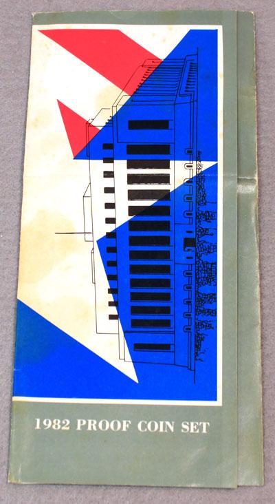 US Mint 1982 Proof Set Brochure front