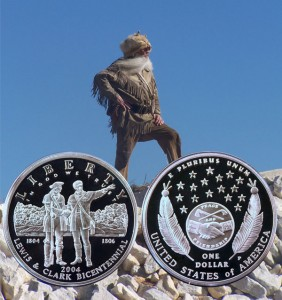 Lewis and Clark Commemorative Silver Dollar