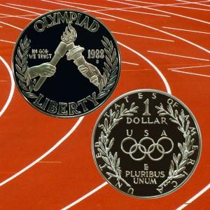 Seoul Olympiad Commemorative Silver Dollar