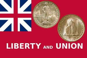 Lexington-Concord Sesquicentennial Silver Half Dollar Coin