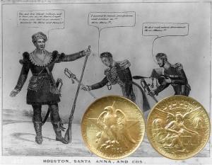 Texas Centennial Silver Half Dollar Coin