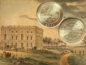 Capitol Visitors Center Half Dollar Coin