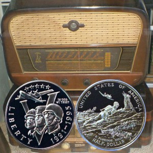 World War II Commemorative Half Dollar Coin