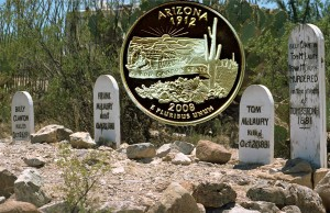 Arizona State Quarter Coin