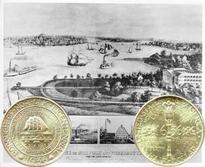 Norfolk Commemorative Silver Half Dollar Coin