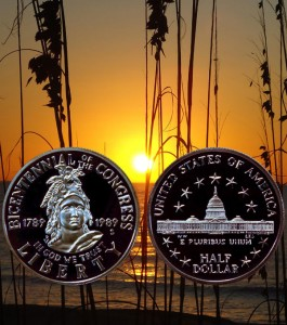 Congress Commemorative Half Dollar Coin