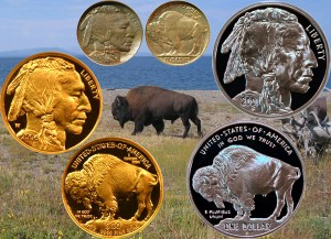 Buffalo Nickel, Silver and Gold Coins