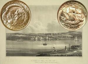 Hudson NY Commemorative Silver Half Dollar Coin
