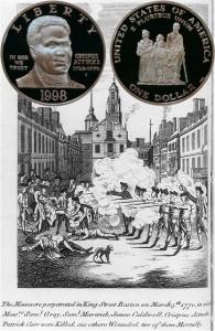 Black Revolutionary War Patriots Commemorative Silver Dollar