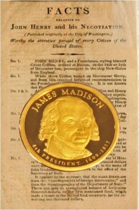 James Madison Presidential Dollar Coin