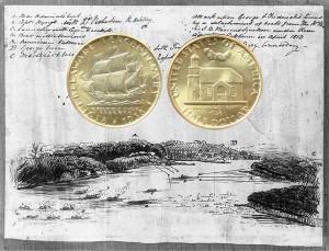 Delaware Tercentenary Commemorative Silver Half Dollar