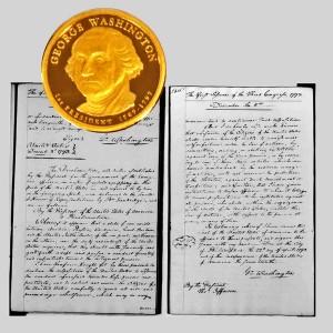George Washington Presidential Dollar Coin