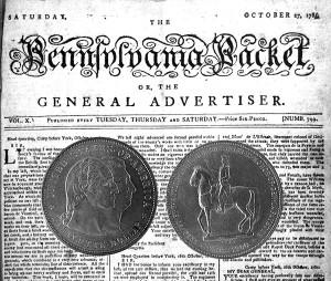 Lafayette Commemorative Silver Dollar Coin