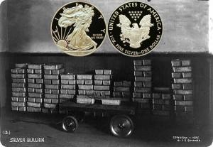 Silver American Eagle coin