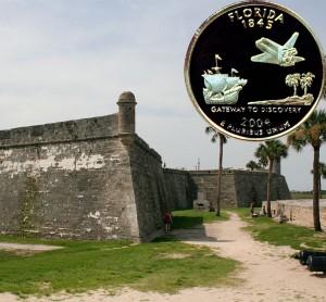 Florida State Quarter Coin