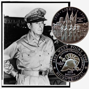 West Point Commemorative Silver Dollar Coin