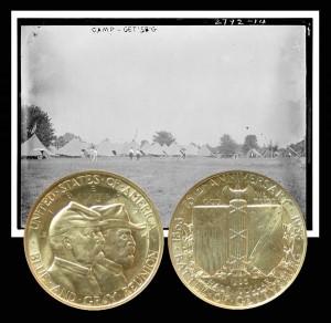 Battle of Gettysburg Commemorative Silver Half Dollar Coin