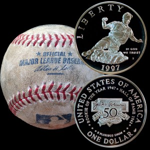 Jackie Robinson Commemorative Silver Dollar Coin