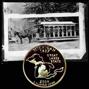 Michigan State Quarter Coin